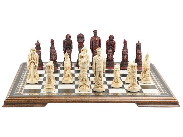 Nautical Chess Pieces
