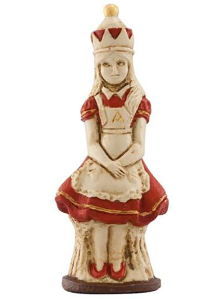 Alice in Wonderland Chess Pieces