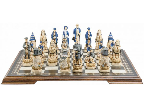 American Civil War Chess Set