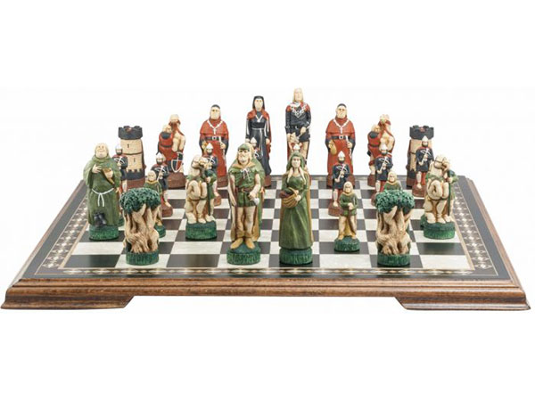 Robin Hood Chess Set