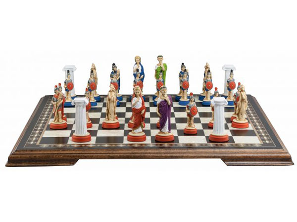 Roman Chess Pieces