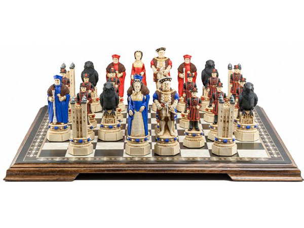 Tower of London Chess Pieces