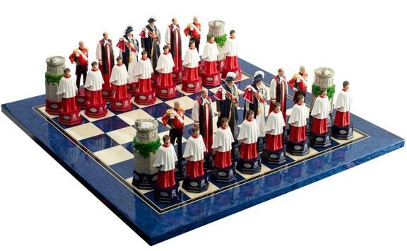 Diamond Jubilee Chess Set Pieces