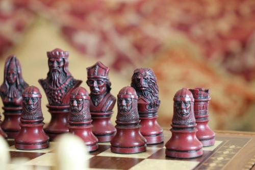 Studio Anne Carlton British Hand Made Chess Sets by Prestigegames.co.uk5